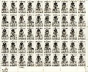 1984 Jim Thorpe 20 Cent US Postage Stamp MNH Sheet of 50 Scott #2089