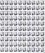 1985 Hubert H. Humphrey 52 Cent US Postage Stamp MNH Sheet of 100 Scott #2189
