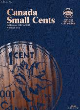 Whitman Canada Small Cents 1989 - 2012 Folder #4049