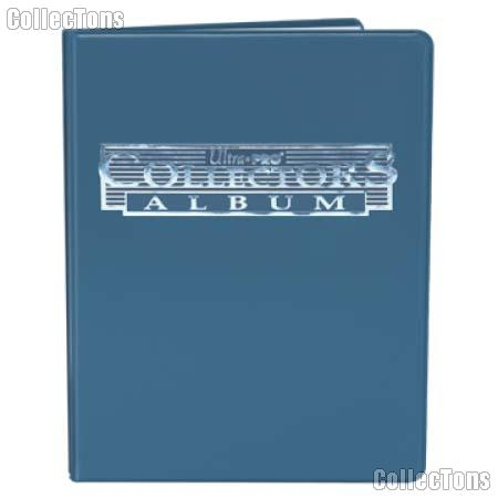 Trading Card Album 9-Pocket Pages Blue by Ultra PRO