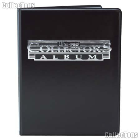 Trading Card Album 9-Pocket Pages Black by Ultra PRO
