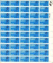 1981 Professional Management 18 Cent US Postage Stamp MNH Sheet of 50 Scott #1920