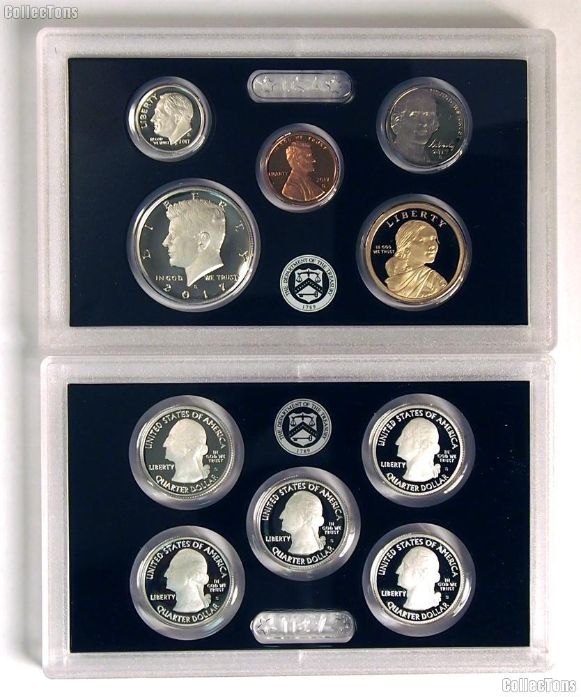 2017 SILVER PROOF SET * ORIGINAL * 10 Coin U.S. Mint Proof Set