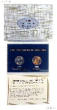 """The Millennium Dollars"" Limited Edition 2 Coin BU Set"