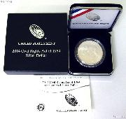 2014-P Civil Rights Act of 1964 Uncirculated Commemorative Silver Dollar Coin