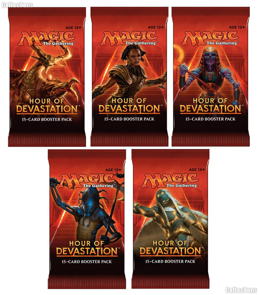 MTG Hour of Devastation - Magic the Gathering Booster Pack