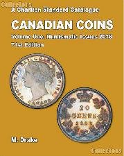 2018 Canadian Coins A Charlton Standard Catalogue Numismatic Issues Vol. 1 71st Ed. by Drake - Spiral
