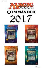 MTG Magic The Gathering COMMANDER 2017 Set of 4 Decks - Factory Sealed