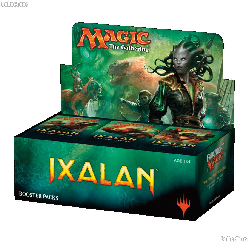 MTG Ixalan - Magic the Gathering Booster Factory Sealed Box