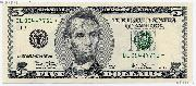 Five Dollar Bill Green Seal FRN STAR NOTE Series 2003 US Currency CU Crisp Uncirculated