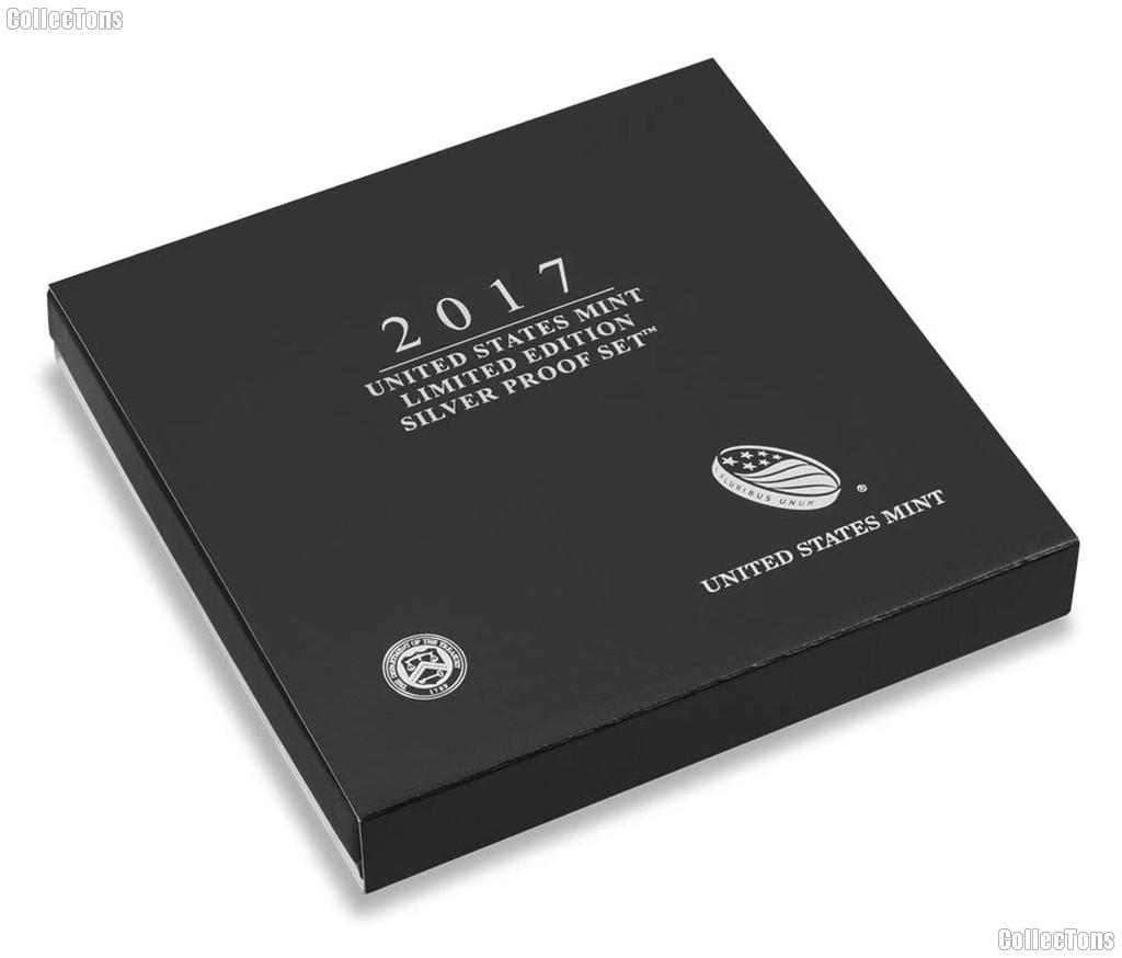 2017 Limited Edition SILVER Proof Set - 8 Coin U.S. Mint Proof Set