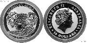 2014 Australian Koala Silver Coin 10 Oz 999 Pure Silver Bullion Coin