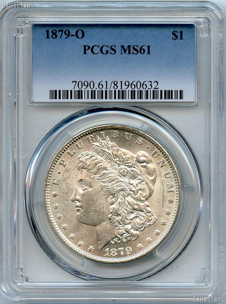 1879-O Morgan Silver Dollar - PCGS MS 61