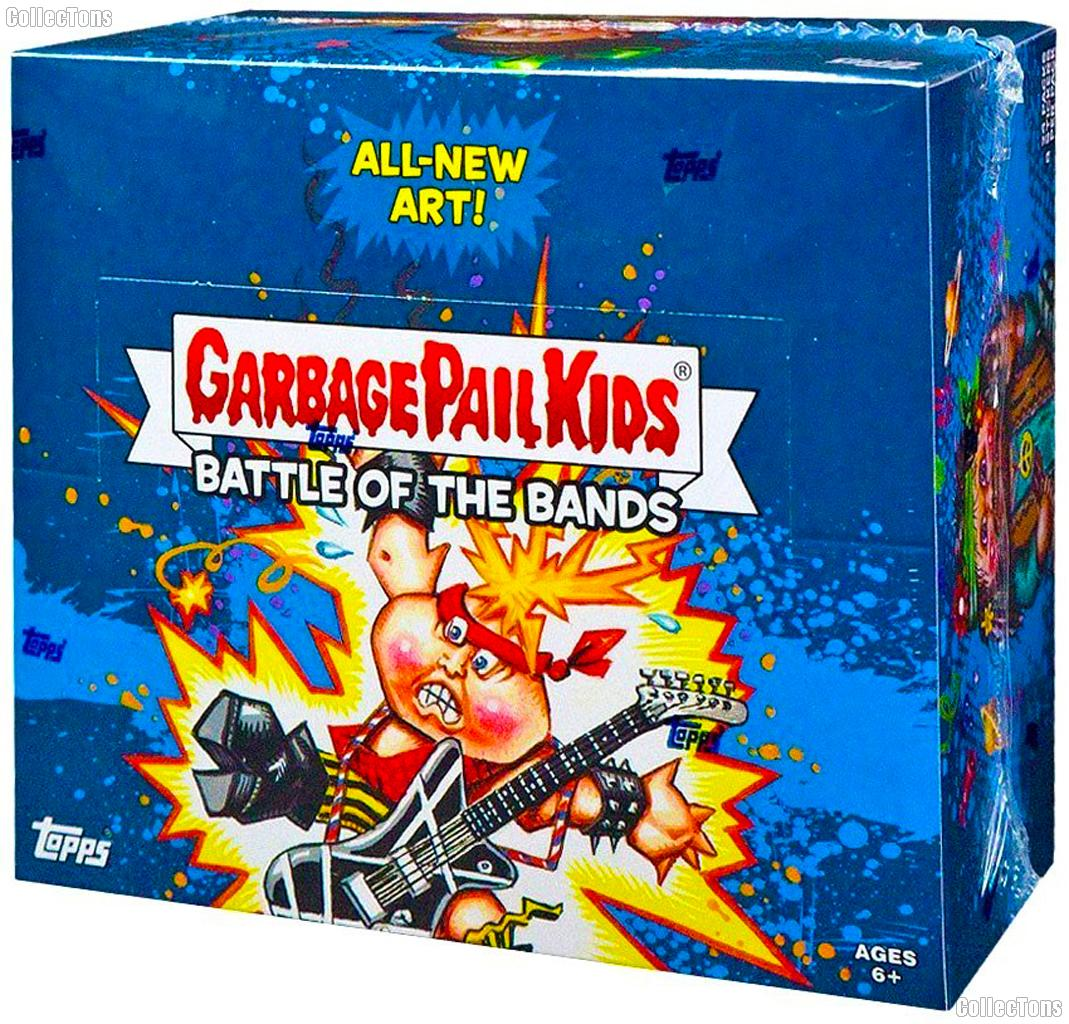 Garbage Pail Kids Battle of the Bands Hobby Box