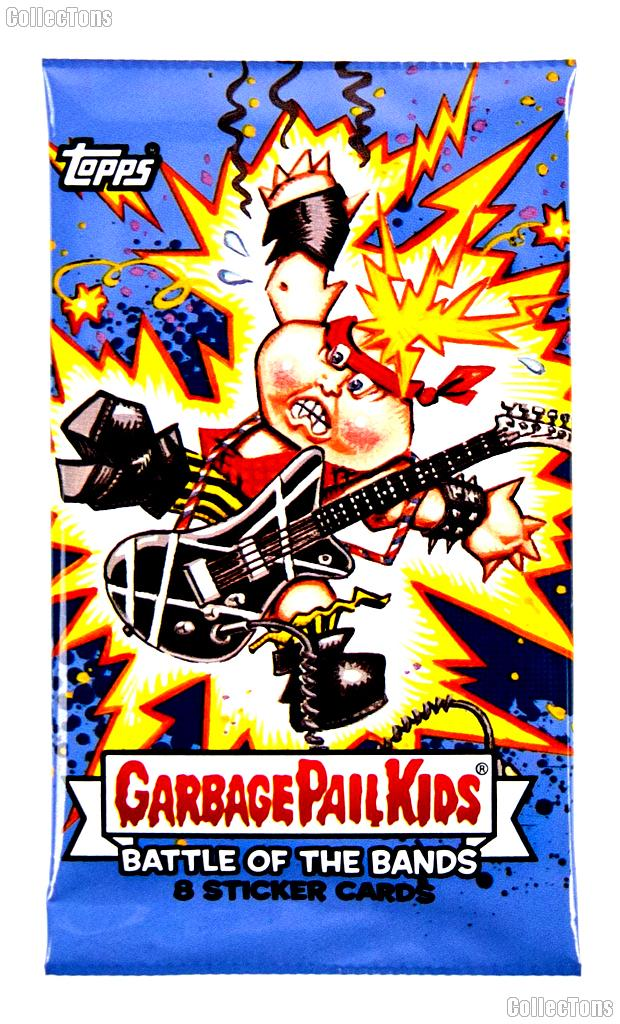Garbage Pail Kids Battle of the Bands Hobby Pack