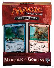 MTG Merfolk vs. Goblins - Magic the Gathering Duel Decks Factory Sealed Box