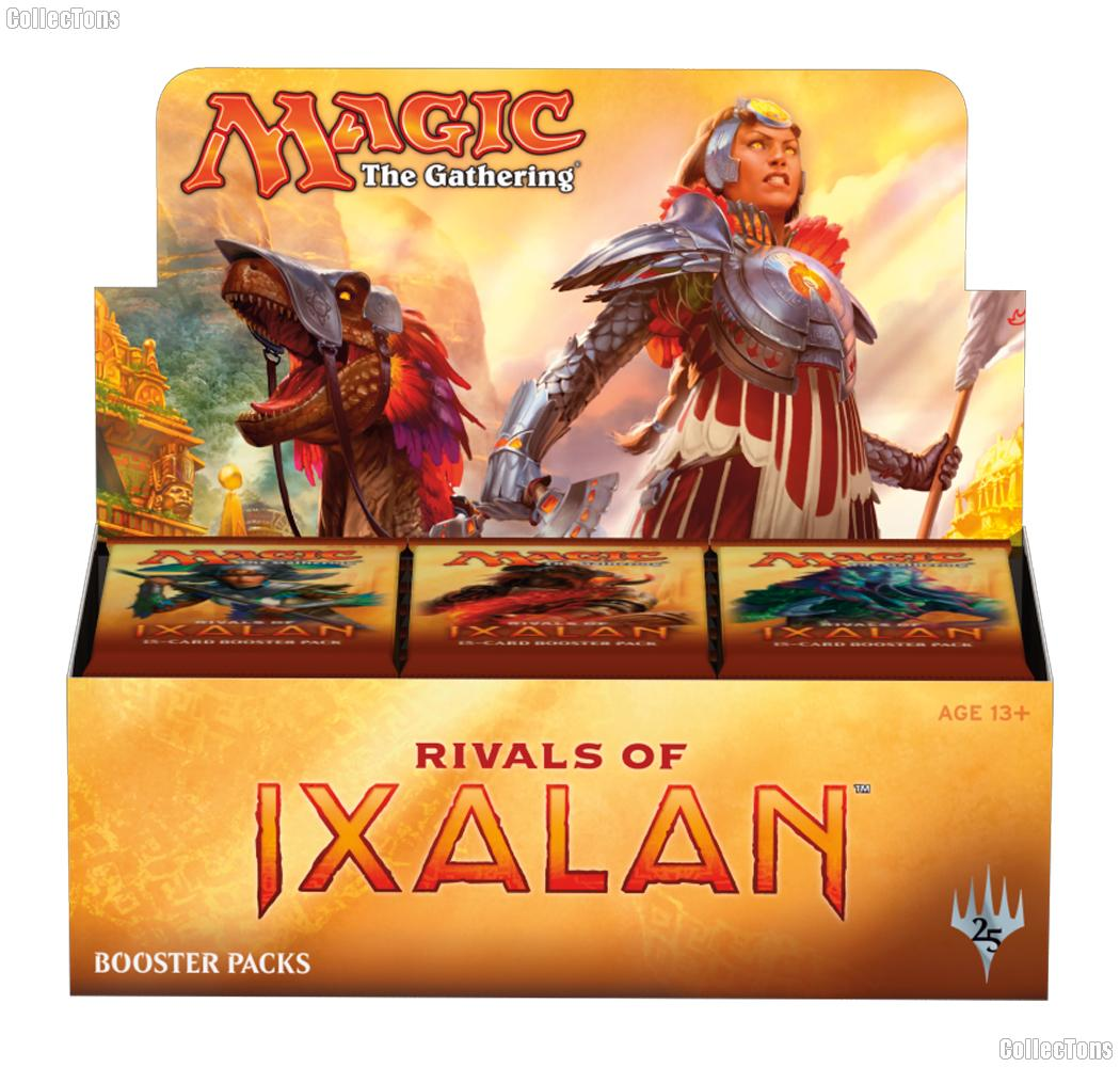 MTG Rivals of Ixalan - Magic the Gathering Booster Factory Sealed Box