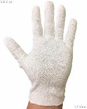 1 Pair of White Cotton Gloves to Handle Coins
