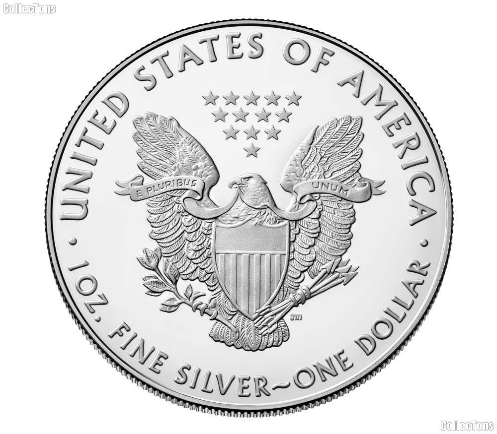 2021 American Silver Eagle Dollar BU (Type 1, original design)