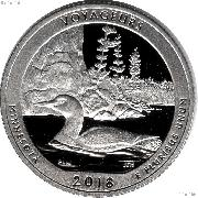 2018-S Minnesota Voyageurs National Park Quarter GEM SILVER PROOF America the Beautiful