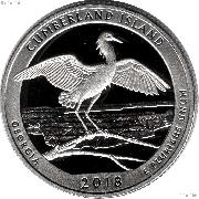 2018-S Georgia Cumberland Island National Seashore Quarter GEM SILVER PROOF America the Beautiful