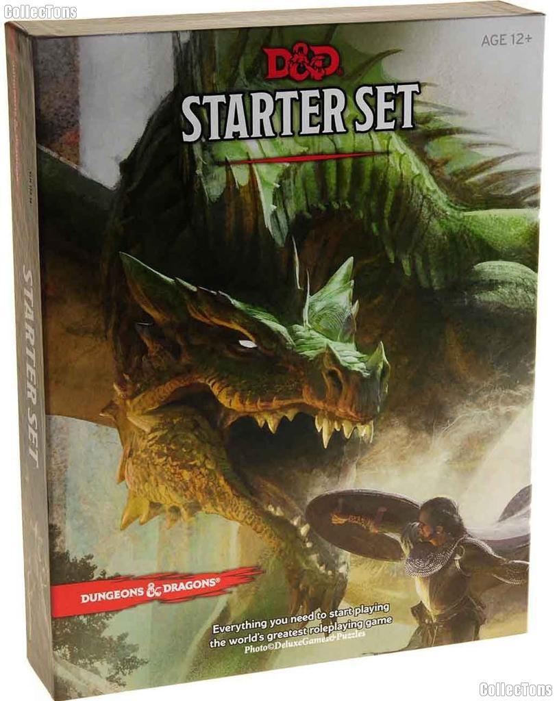 D&D Starter Set - Dungeons and Dragons Set