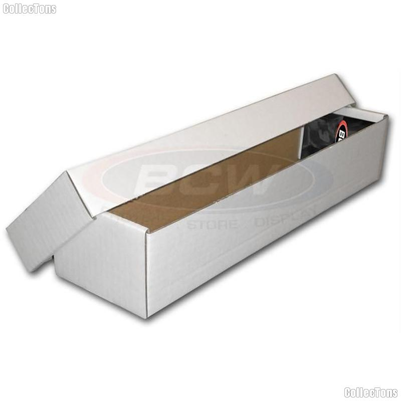 Two Piece Trading Card Storage Box by BCW 800 Count Cardboard Storage Box