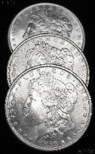 1890 BU Morgan Silver Dollars from Original Roll