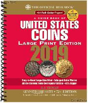 Whitman Red Book of United States Coins 2019 - Large Print