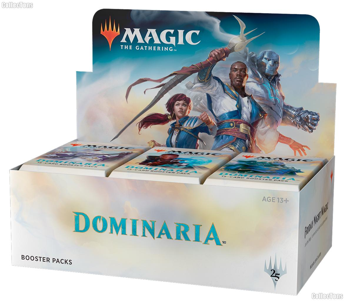 MTG Dominaria- Magic the Gathering Booster Factory Sealed Box