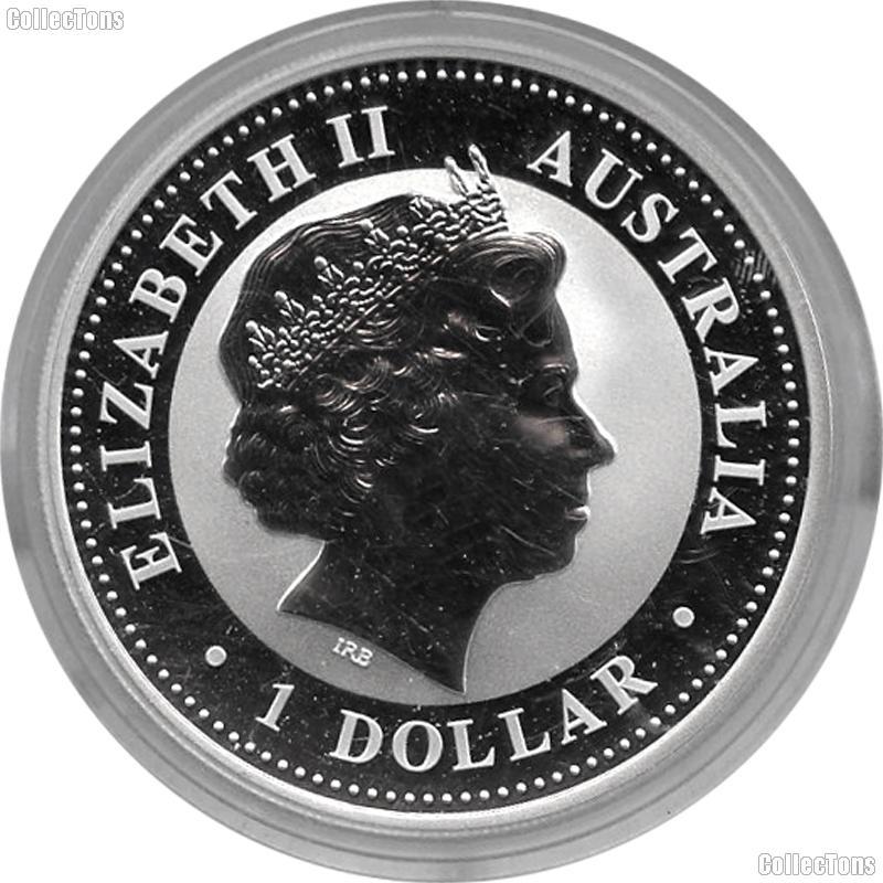 2007 Australian Kookaburra Silver Coin 1oz .999 Pure Silver Bullion Coin