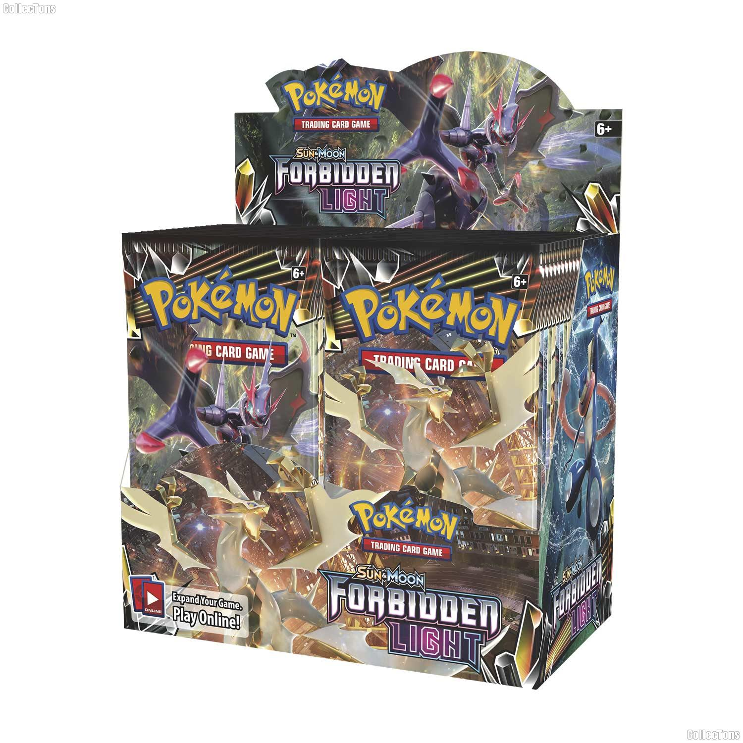 Pokemon - Sun & Moon Forbidden Light Booster Box