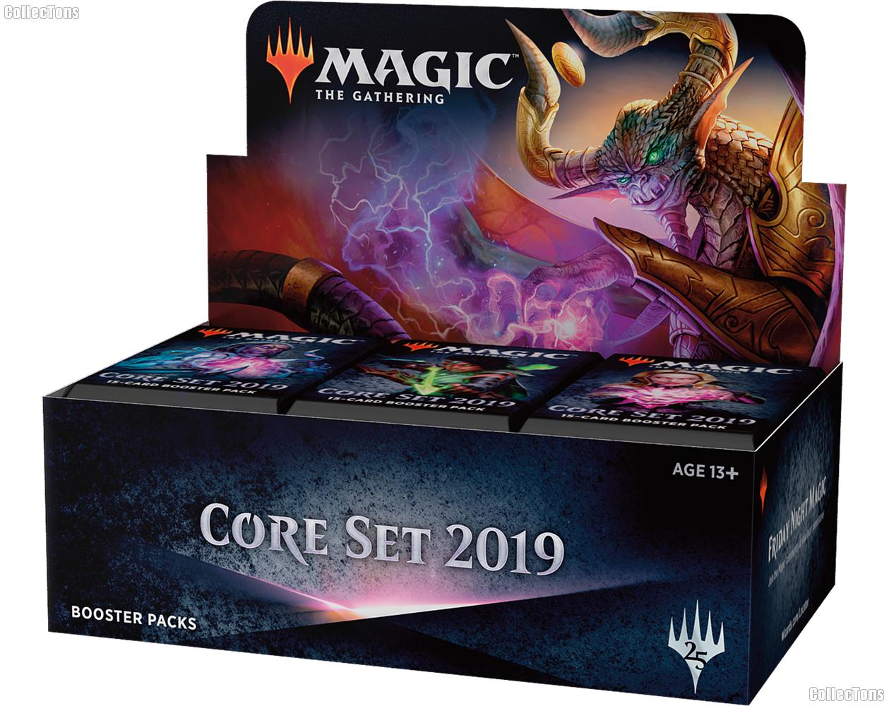 MTG Core Set 2019 M19 - Magic the Gathering Booster Factory Sealed Box