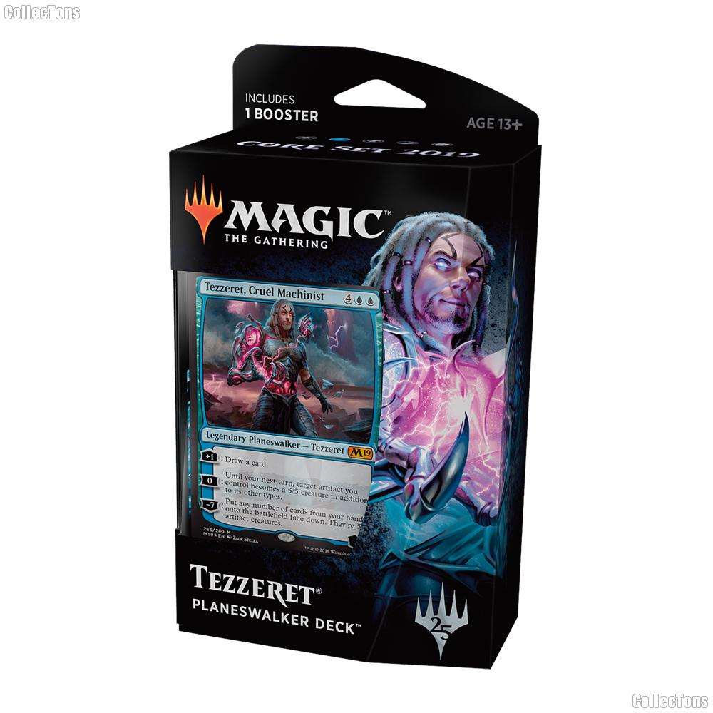 MTG Core Set 2019 M19: Magic the Gathering Planeswalker Deck: Tezzeret