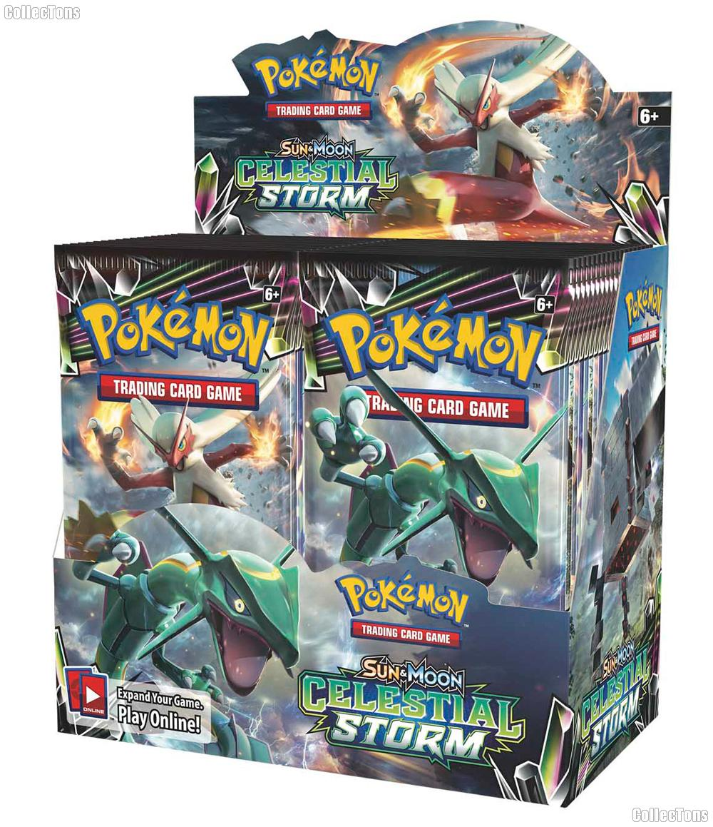 Pokemon - Sun & Moon Celestial Storm Booster Box