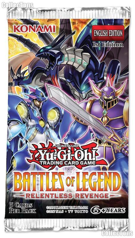 Yu-Gi-Oh! - Battles of Legend: Relentless Revenge Booster Pack