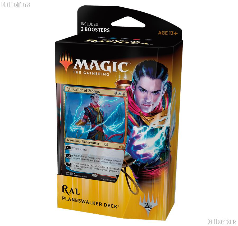 MTG Guilds of Ravnica: Magic the Gathering Planeswalker Deck: Ral