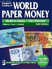 Krause Standard Catalog of World Paper Money Modern Issues 1961-Present, 24th Edition