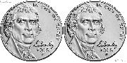 2018 P & D Jefferson Nickels Gem BU (Brilliant Uncirculated)