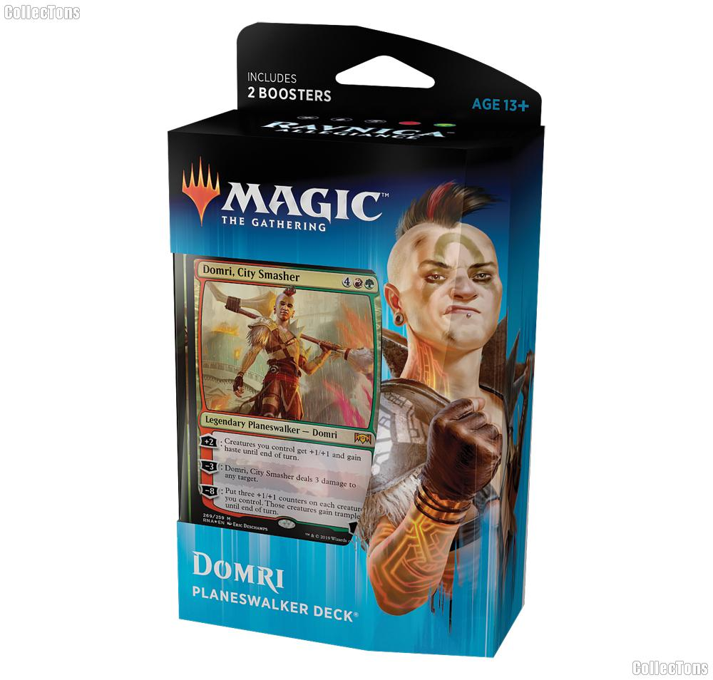 MTG Ravnica Allegiance: Magic the Gathering Planeswalker Deck: Domri