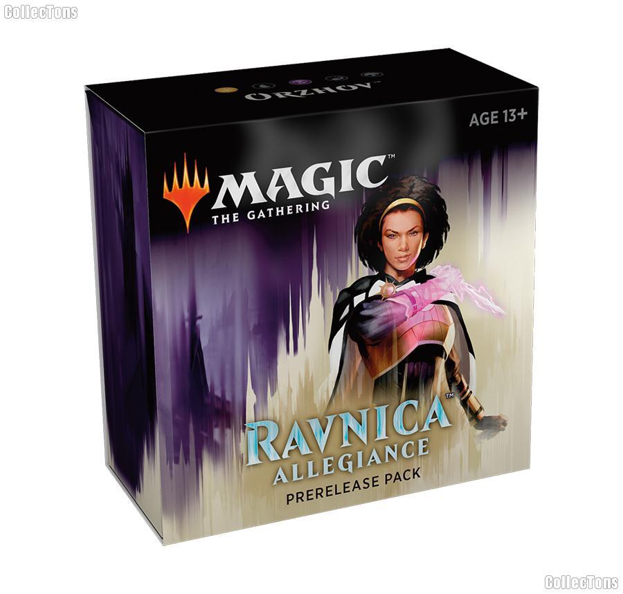 MTG - Magic the Gathering -  Ravnica Allegiance Prerelease Pack - Orzhov