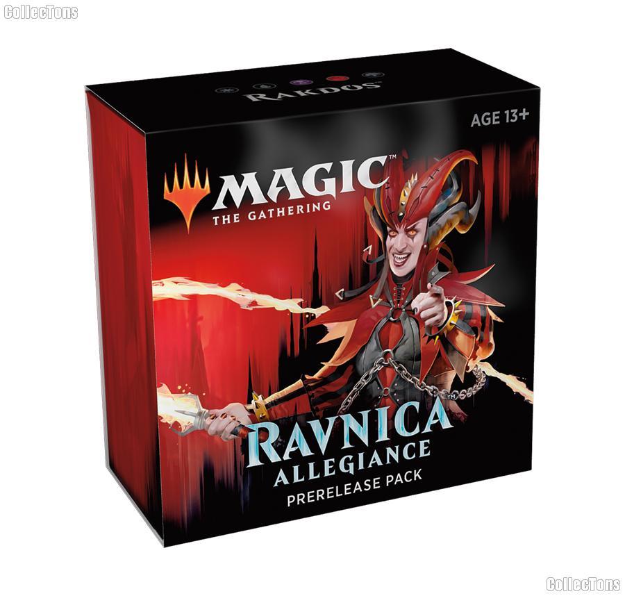 MTG - Magic the Gathering -  Ravnica Allegiance Prerelease Pack - Rakdos
