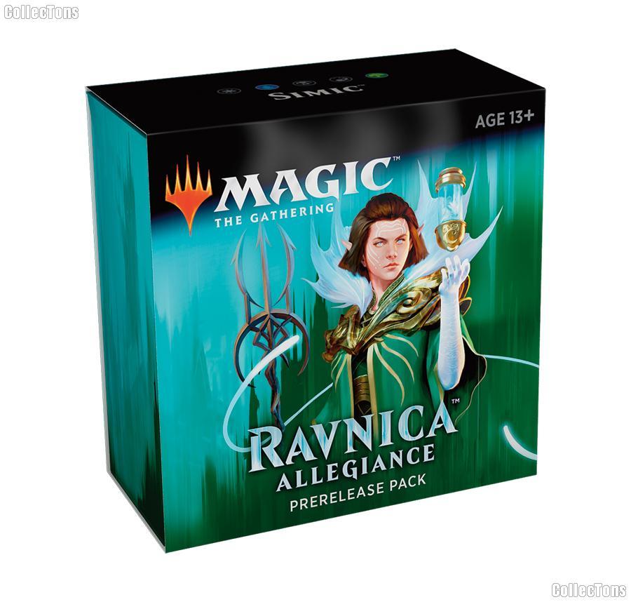 MTG - Magic the Gathering -  Ravnica Allegiance Prerelease Pack - Simic