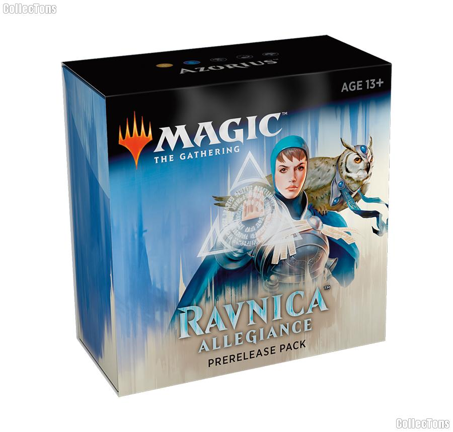 MTG - Magic the Gathering -  Ravnica Allegiance Prerelease Pack - Azorius