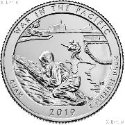 2019-W Guam War in the Pacific National Historical Park Quarter GEM BU Great American Coin Hunt