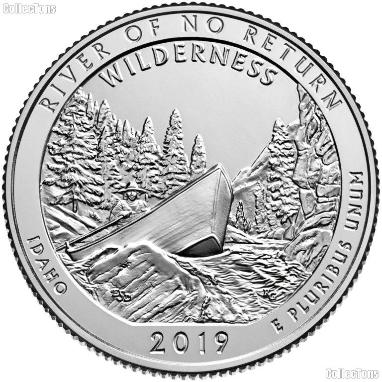 2019-S Idaho Frank Church River of No Return Wilderness  Quarter GEM SILVER PROOF America the Beautiful