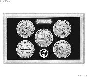 2019 QUARTER SILVER PROOF SET * ORIGINAL * 5 Coin U.S. Mint Silver Proof Set