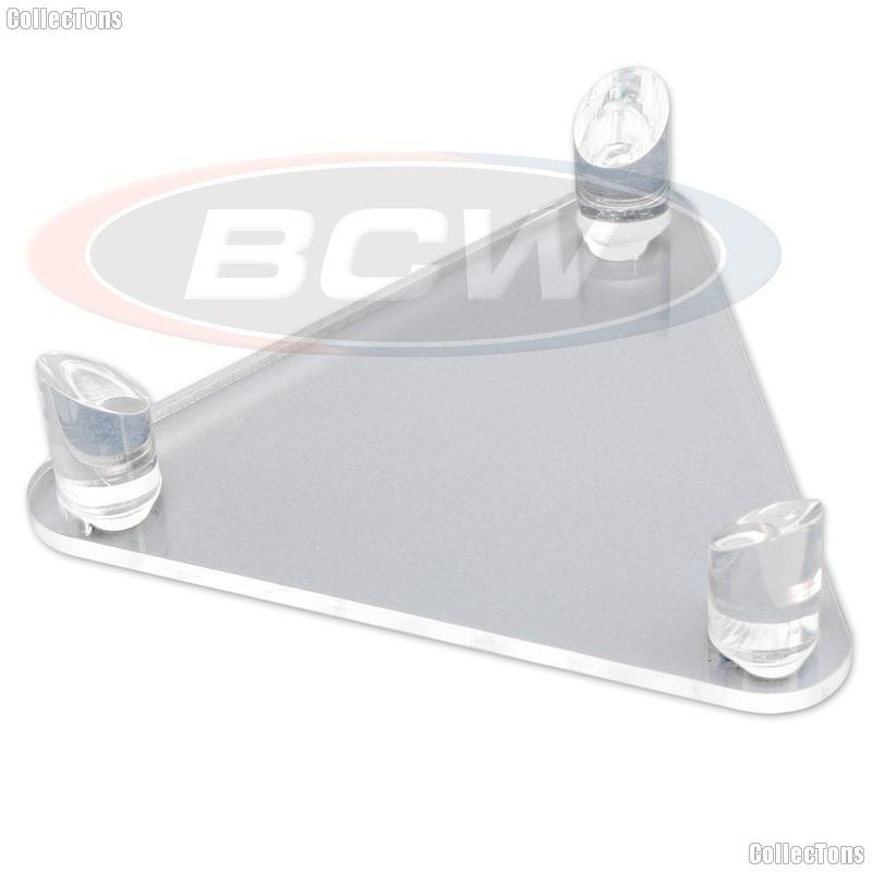 Ball Display Stand by BCW Deluxe Acrylic Basketball, Football, or Soccer Ball