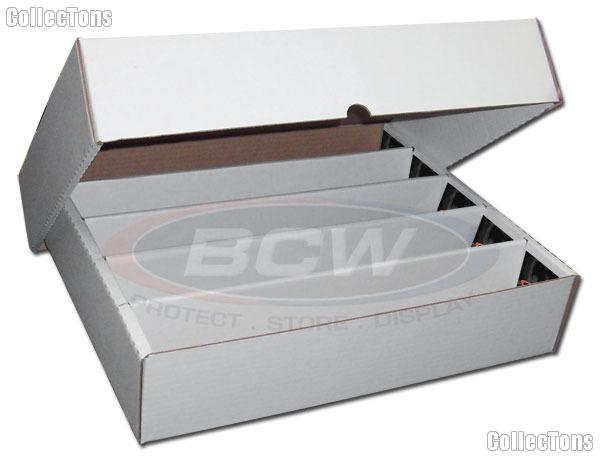 Sports Card Storage Box by BCW Super Monster FULL LID Storage Box 5000 Count