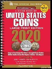 Whitman Red Book of United States Coins 2020 - Large Print